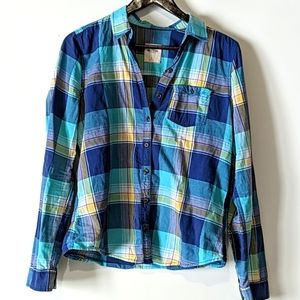 {3 for $40} Hollister Plaid Button Up